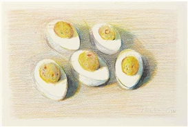 Wayne Thiebaud, Deviled Eggs