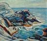Edgar Hewitt Nye, Rocky Coastal Scene