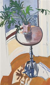 Alice Neel, Plant in the Window
