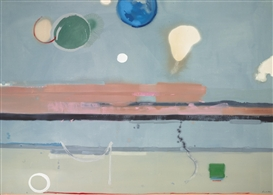 Artwork by Helen Frankenthaler, Scorpio, Made of Acrylic on canvas