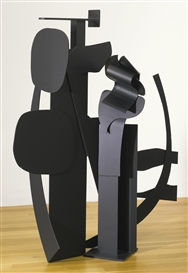 Louise Nevelson, Black Flower Series VI