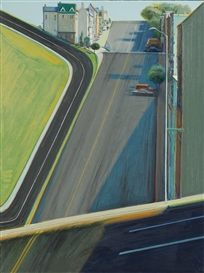 Wayne Thiebaud, Down Penn Street