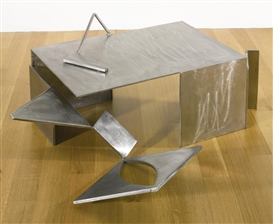 Artwork by Anthony Caro, Box Piece C, Made of Stainless steel