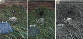 Jennifer Bartlett, 3 Works: 10 A.M., Grass