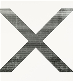 Artwork by Wade Guyton, Untitled, Made of Epson UltraChrome inkjet on canvas