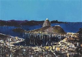 Artwork by Enoc Pérez, Rio de Janeiro, Made of oil on canvas