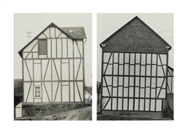 Bernd & Hilla Becher, 2 works: Houses
