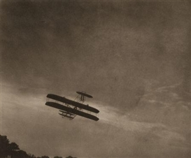 Artwork by Alfred Stieglitz, The Aeroplane, Made of Vintage photogravure