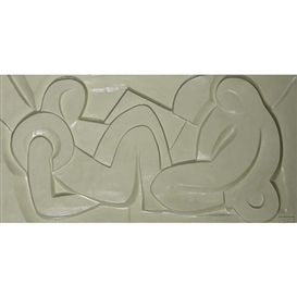 Artwork by Anthony Padovano, Untitled, Made of Plaster relief