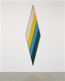Artwork by Kenneth Noland, Till, Made of acrylic on canvas