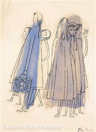 Ben Shahn, To Days of Childhood