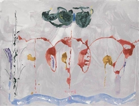 Artwork by Helen Frankenthaler, Aerie, Made of Color screenprint