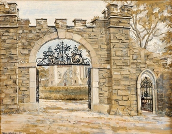 Gate and Old Forge Hillsborough By Patric Stevenson ,1957