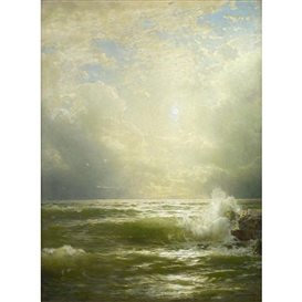 William Trost Richards, Sunlit Wave