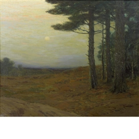 Artwork by Charles Warren Eaton, The Heart of New England, Made of Oil on canvas