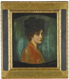 Artwork by Franz von Stuck, FRAU FEEZ, Made of oil on panel