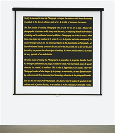 Alfredo Jaar, Screen