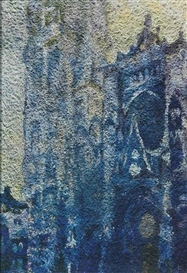 Vik Muniz, After Claude Monet, Rouen Cathedral Façade, Morning Effect, from Pictures of Pigment