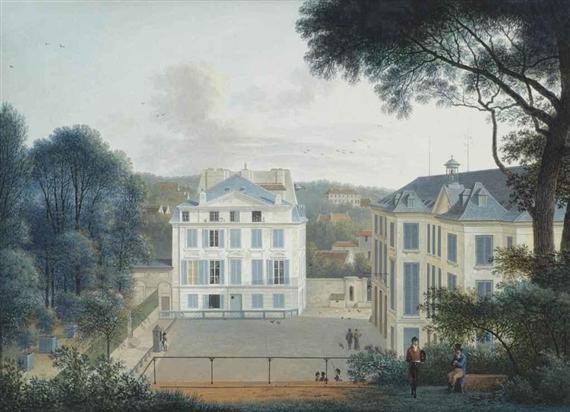 Josephus Augustus Knip | Maison de Buffon in the Jardin de ...