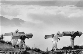 Sebastião Salgado, Wood Delivery Men, Eastern Sierra Madre, Mexico
