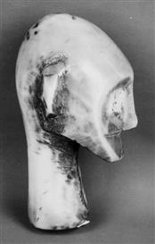 Artwork by Walker Evans, African Mask, Made of Gelatin silver print