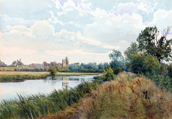 Artworks Of William Fraser Garden British 1856 1921