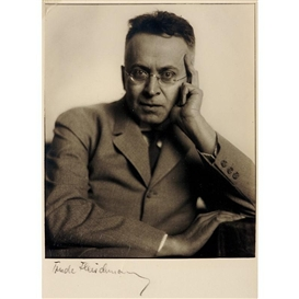 Artwork by Trude Fleischmann, Karl Kraus, Made of Vintage silver print