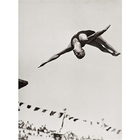 Artwork by Paul Wolff, 6 works: Summer Olympic Games, Made of Vintage silver prints