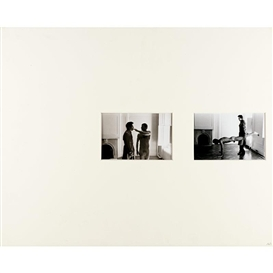 Artwork by Duane Michals, 7 works: Sequence, Made of Vintage silver prints