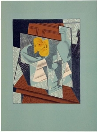 Artwork by Juan Gris, Compotier, Made of Colour lithograph on Velin d´Arches paper