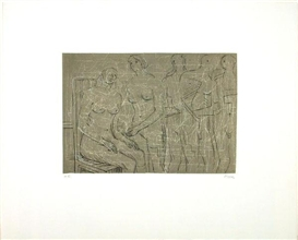 Henry Moore, Group of Figures