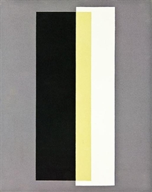 Artwork by Gordon Walters, Untitled, Made of acrylic on canvas