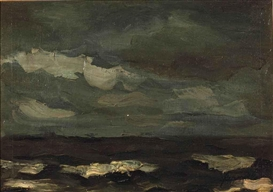 Artwork by Constant Permeke, Marine, Made of oil on canvas