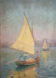 Grace Henry, Sailing Boats at Chioggia, Venice