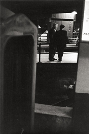 Artwork by Louis Stettner, PENN STATION, Made of Gelatin silver print