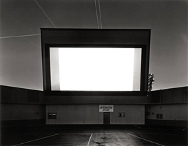 Hiroshi Sugimoto, ORANGE DRIVE-IN, ORANGE ,FROM THE SERIES ,,THEATERS
