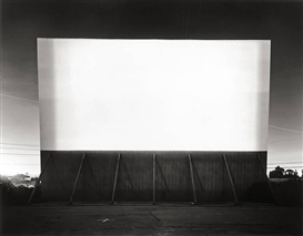 Hiroshi Sugimoto, LOS ALTOS DRIVE-IN, LAKEWOOD, FROM THE SERIES THEATERS