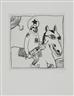 Hans Schärer, 3 Works: Untitled; Untitled & Untitled