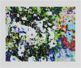 Artwork by Annelies Štrba, Flowers, Made of inkjet prints on paper