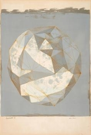 Artwork by Lynn Chadwick, Moon in Alabama, Made of Colour lithograph on vellum