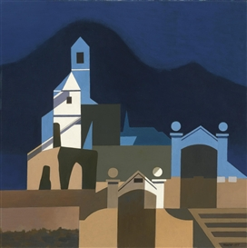 Artwork by Charles Sheeler, CALIFORNIA, Made of oil on canvas
