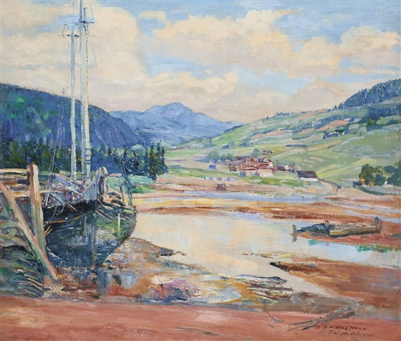 Frederick w hutchison la bature baie st paul for A la chouette maison baie st paul