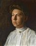 Thomas Eakins, Portrait of Rebecca MacDowell (Mrs. J. Randolph Garrett)