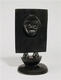 Artwork by Max Ernst, CHÉRI BIBI, Made of Bronze with black patina