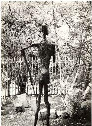 Brassaï, Don Quichotte, sculpture de Germaine Richier