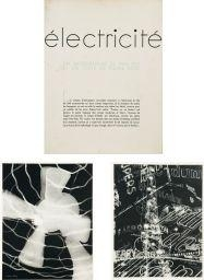 Artwork by Man Ray, Électricité, Made of photogravures