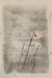 Artwork by Morris Graves, Wild Flowers, Made of mixed media on paper