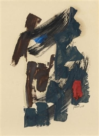 Fritz Winter, UNTITLED