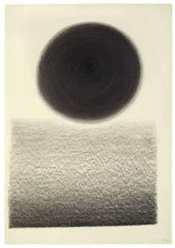 Artwork by Rupprecht Geiger, UNTITLED, Made of Graphite on firm paper