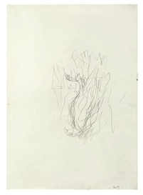 Artwork by Georg Baselitz, UNTITLED, Made of Pencil on paper
